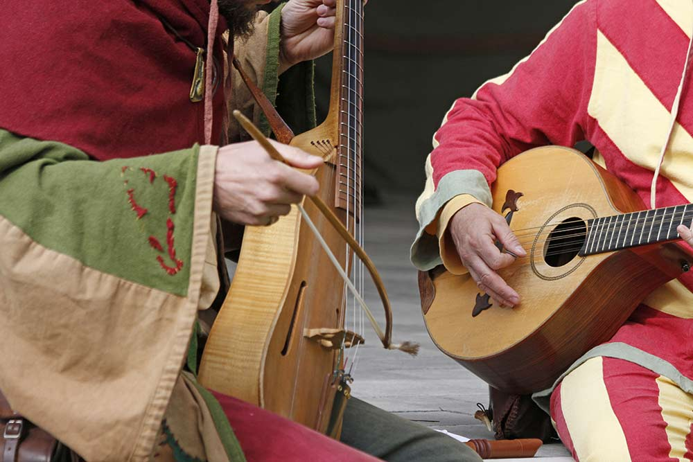 Mittelalterliche Musik