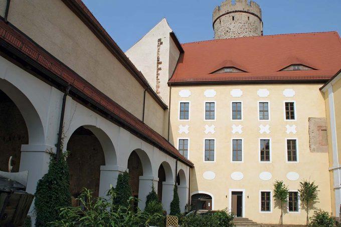 Burg Gnandstein in Sachsen