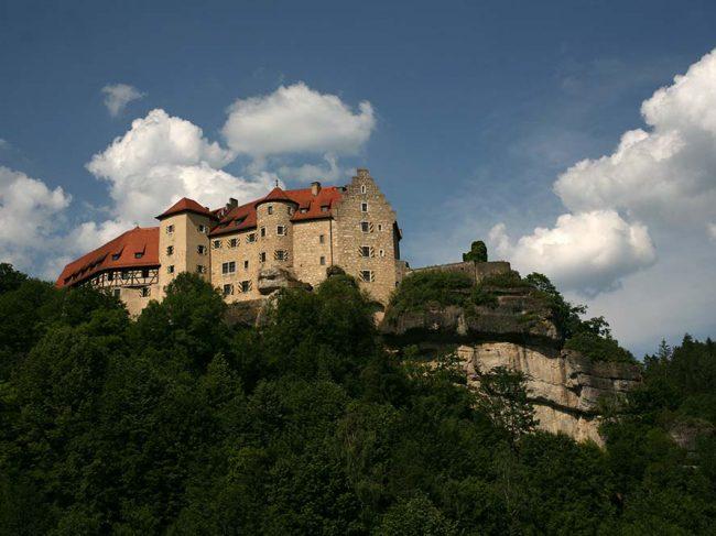 Burg Rabenstein in Bayern