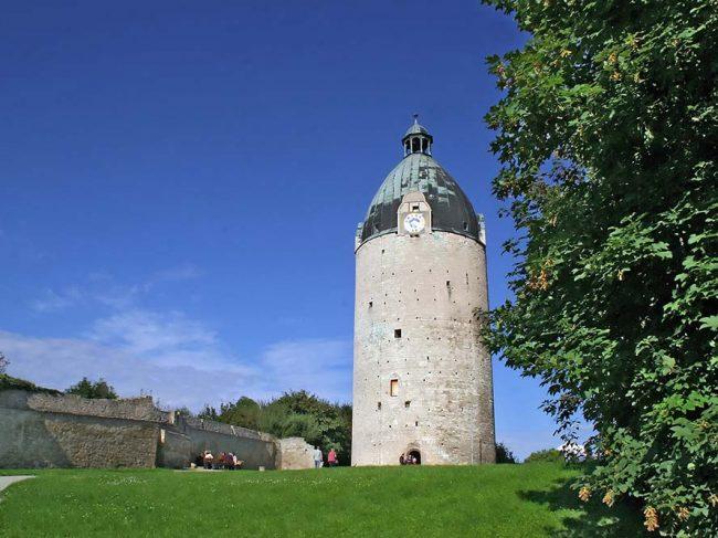 Schloss Neuenburg in Freyburg