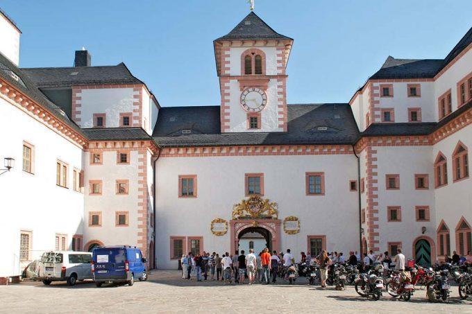 Schloss Augustusburg in Sachsen